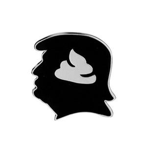 Donald Trump Brooch Pins 2020 États-Unis Président Metal Badge Amérique drôle élection Fournitures LJJA5940