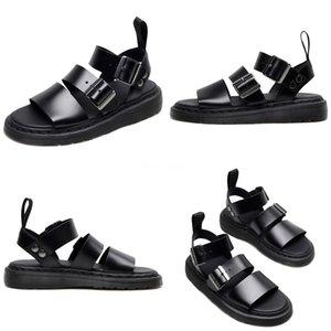 NAN JIU MOUNTAIN Fashion Buckle-Strap Sandals Women#S Shoes Summer Sandals Gladiator Studded Rivet Flat Women Platform Shoes#829