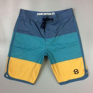 Patchwork Board Shorts Praia Shorts Swim de Nova outubro estiramento Repel Homens Água Trunks Swimwear Surf Curto De Bain Homme