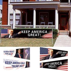 США Stock Keep America Great Flag 296x48cm Trump 2020 Президентские выборы Баннер Trump кампании Флаг DHL Доставка