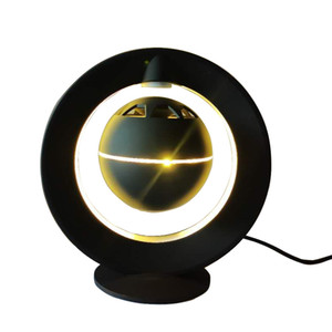 Speakers Magnetic Levitation Night Light inteligente Bluetooth Abrir Entrevista Projeto HIFI 360 Degree Stereo Surround Subwoofer flutuante Speakers
