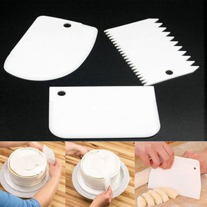 Scraper Flexible Food-safe Plastic Trapezoid Scraper For Kitchen Cooking Professional supplier Wholesale Tool Suit