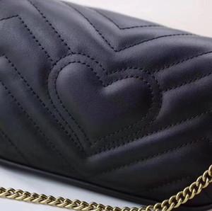 De calidad superior 4 colores famosa de un solo hombro bolsa de la cadena de cuero bolsa cruzada cuerpo color sólido del bolso del Cruz-cuerpo del bolso del 20c de las mujeres de la marca