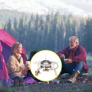Widesea Außen Wind Proof Gas Campingkocher Lighter Tourist Ausstattung Küche Cylinder Wandern und Camping Camping Wandern Propane Gr Souh #