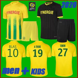 2020 2021 FC Nantes adultos de Futebol camisa amarela casa 20 21 crianças Sala Coulibaly Waris Rongier Boschilia Football Shirt FC Nantes