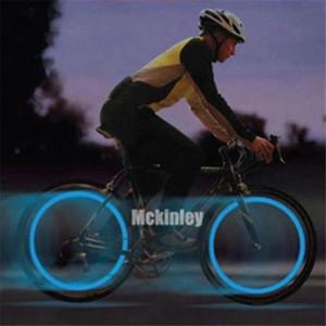 Bike Cycling bici ha parlato del filo della gomma del pneumatico della rotella Super LED luminoso della lampada Luces Luz Bicicleta luci correnti all'ingrosso