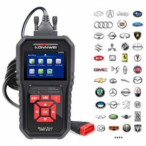KONNWEI OBD2 автоматический диагностический сканер ODB2 Check Engine Автомобильный Автомобильный Code Reader Черный Универсальный OBD автомобиля диагностический инструмент KW850 VAo6 #