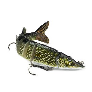 Fishing Bait Sinking Wobblers 12cm 20cm Fishing Lure Fishing Accessories 8 Segment Hard Lures For Tackle Tools Pesca Artificial Pike Carp #5