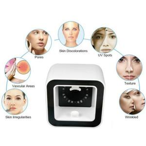 2020 Profession Pigmentation analyse la plus avancée Skin Mirror System Analyzer / peau du visage Analyzer rapide Livraison gratuite