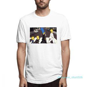 Cotone I Simpson moda progettista delle camice delle donne Camicie maniche corte Mens Shirt Il Simpsons stampato magliette causale c3507d06