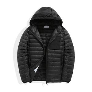 Pedra piratas 19ss New inverno com capuz para baixo casaco com 90% de pato branco para baixo de enchimento estilo Frete grátis
