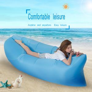 Aufblasbare Lounger Air Sofa Leichte Strand Schlafsack Air Hammock Folding Schnelle aufblasbare Sofa für Beach Camping-Reisen
