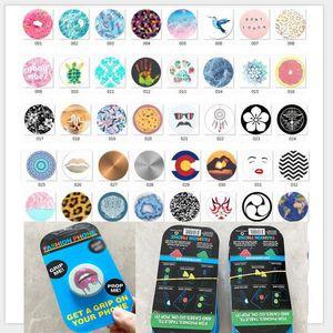 Популярные сотовый мобильный телефон мешок держатель воздуха для мобильного телефона с розничным пакетом Синий упаковки Реальный 3М клей поддержки для повторного использования