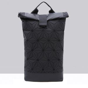 Borsa Designer- donne zaino per le ragazze geometrica Shoulder Bag Uomini scuola Zaino Ologramma Laptop Backpack Luminous