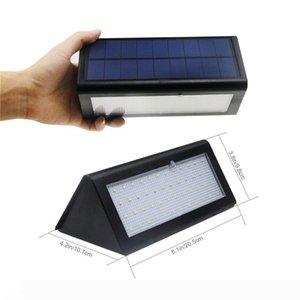 Solar Powered Light Outdoor Microwave Radar Sensor LED Wall Light Garden Lamp ABS+PC Cover 1000lm Waterproof Bulb