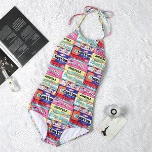 gui Luxury Designer Swimwear Swimsuit Backless Black White Triangle Bikini One Piece Swimwear Women Vest Sexy Beach Swim Wear Bathing Suits