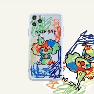 2020 Hot Ins Graffiti Joker Phone Case For iPone 11Pro 11ProMax 11 X XS XR XRMAX 7&8 7p&8Plus