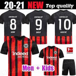 20 21 EINTRACHT FRANKFURT ENFANTS FOOTBALL jerseys HOME PACIENCIA KOSTIC HALLER FERNANDES PLATZ FÜR vielfalt 2020 S 2021 LOIN uni chemises