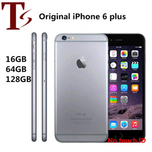 Refurbished Original Apple iPhone 6 Plus Without Fingerprint 5.5 inch A8 16 64 128GB ROM IOS Unlocked LTE 4G Phone