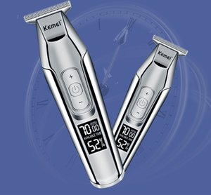 Kemei Professional Electric Hair Clipper Rechargeable Hair Trimmer Haircut Shaving Machine Kit Km 5027 Kemei Professional Items With KKCLX