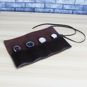 Wrist Watch genuine pen brush cover storage bag Wrist Watch storage bag rope-wrapping small quantity customized