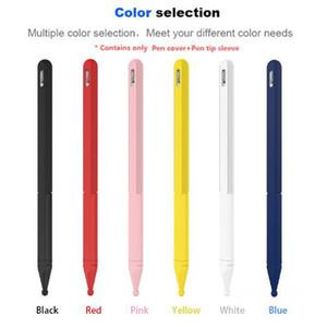 Silikon-Haut-Abdeckung kompatibel mit Apple Bleistift 2. Generation Pencil 2-Fall-Abdeckung Zubehör Soft-Grip-Beutel-Schutz mit Kleinsatz