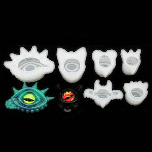 Eyes Demon Silicone Molds DIY UV Resin Cabochons Pendant Handmade Epoxy Resin Evil Jewelry Charms