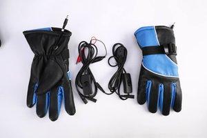 Moto e veicoli elettrici antiscivolo carica calda motociclismo guanti riscaldamento elettrico riscaldamento electrombile guanti