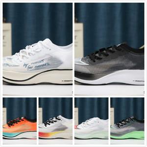 zoomx vaporfly próxima% sapatos de corrida Ekiden Blue Ribbon ser verdade Sail Preto Valerian azul Volt mulheres dos homens instrutor Sports Sneakers 36-45