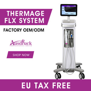 EU TAX FREE 2020 new professional thermage skin rejuvenation face lifting device fractional rf microneedle wrinkle removal machine flx