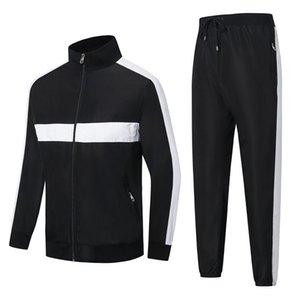 Francia marchio Stripe Mosaico uomini del progettista Tute Survêtement pour Homme Zipper giacca Autunno giacca sport invernali gli uomini della cardigan