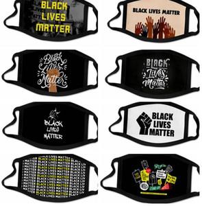 vidas negras importa máscara 3d imprimir Moda máscara máscaras boca lavável reutilizáveis tampa de tela FLOYD BLM LJJK2422