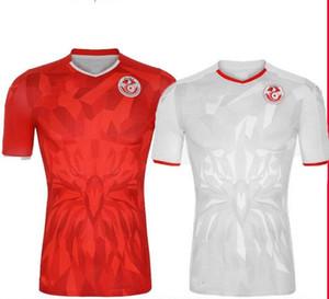 تايلند 20 21 تونس لكرة القدم الفانيلة 2020 2021 المنتخب الوطني Msakni Khazri السليطي BEN YOUSSE HAMZA المنزل بعيدا قميص كرة القدم مايوه دي القدم