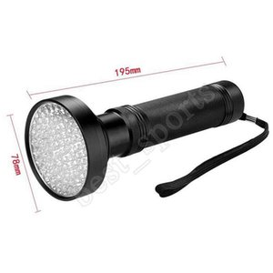 3W UV Black Flashlight 100 LED Best UV Light For Home & Hotel Inspection,Pet Urine & Stains LED spotlights
