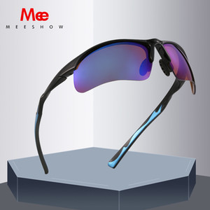 Meeshow Sunglasses Brand Design Sports Sun Glasses Homens Polarized Óculos