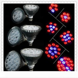 Full Spectrum LED Grow Lights 21W 27W 36W 45W 54W E27 LED Grow Lamp PAR 38 30 Bulb For Flower Plant Hydroponics System Grow Box Spotlight