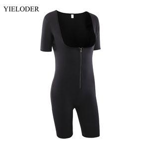 YIELODER Kadınlar Vücut Şekillendirici İç Fajas Bel Zayıflama bodysuit Giyim Body Shaper Korseler Shapewear 013 Y200710