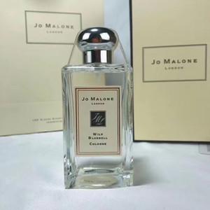 Jo Malone Haute Qualité Londres parfum Parfums Parfums pour femmes 100ML parfums parfums sauvages Bluebell Cologne pour les femmes