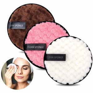 Makeup Remover Pads Microfiber Reusable Face Towel Makeup Wipes Cloth Washable Cotton Pads Skin Care Cleansing Puff J1546