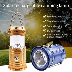 Camp Lambası LED Kamp Işık USB Şarj edilebilir Dim Spotlight İş Işık Su geçirmez Searchlight Acil Meşalesi