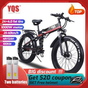 electric bike 1000W New Super Neve Snow Electric Bike Ebike 48 V bicycle Increase tires