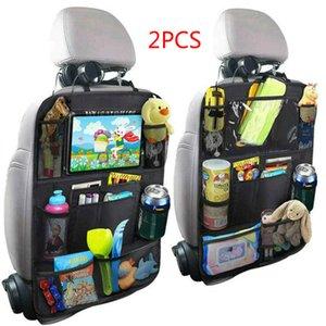Cheap Stowing Tidying Fashion Convenient Car Seat Back Organizer Multi-Pocket Bag Box Case Car bag Tablet Holder Storage Organizer