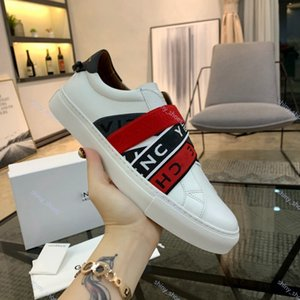 xshfbcl New fashion Luxe Man sneaker with brown red black elasticity stripes high Quality designer Shoes 38-44