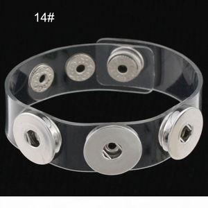 J Charm Bracelets Silver Snap Fit Diy Snaps Buttons Jewelry 18mm Cheap Knot Ginger Snap Jewelry Leather Bracelets