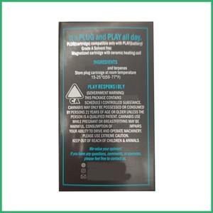 일회용 플러그 PLAY 세라믹 코일 Vape 펜 카트리지 새는 것이 포드 펜 cerami 카트 플러그 PLAY 키트 최고의 qulity에를 포드