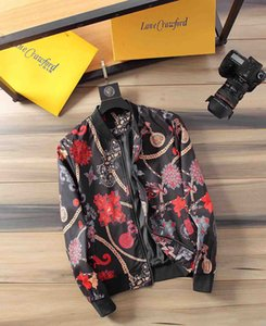 Fashion Designer Jacket Windbreaker Long Sleeve Mens Jackets Hoodie Clothing Zipper With Animal Letter Pattern Plus Size Clothes M-3XL#666