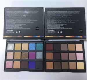 Горячая Продажа PopFeel Mini 15 Цвета Eyeshadow Профессия Макияж глаза тень палитра Shimmer Матовая Косметика