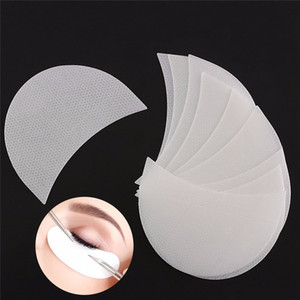 50 pcs box Eyeshadow Shields Pads Under Eye Patches Disposable Eye Shadow Makeup Protector Stickers JK2007XB