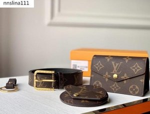 fannypack men designer luxury purse bags waist bags old flower pattern pu leather high quality women luxury purses belt bag