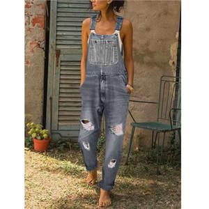 20s Designer Damen-Jeans Mode Sommer-reizvolle Frauen Overall Style Jeans-Hosen-beiläufige Damen Street Hosen 3 Farben Größe S-3XL
